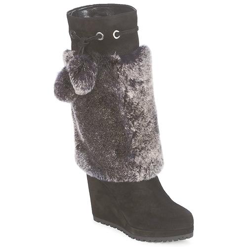 Shoes Women High boots Sebastian NIGOK Black