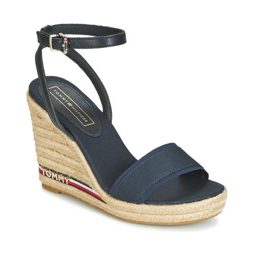 Shoes Women Sandals Tommy Hilfiger ELENA 78C1 Marine