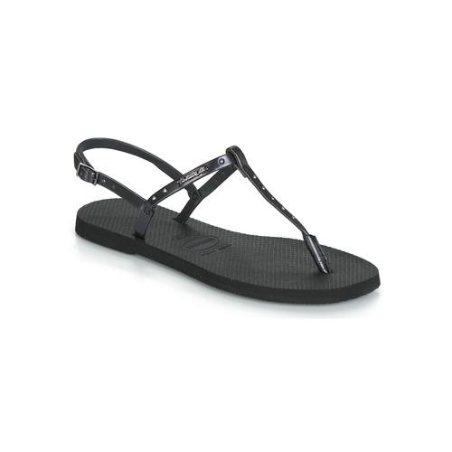 Shoes Women Sandals Havaianas YOU RIVIERA MAXI Black