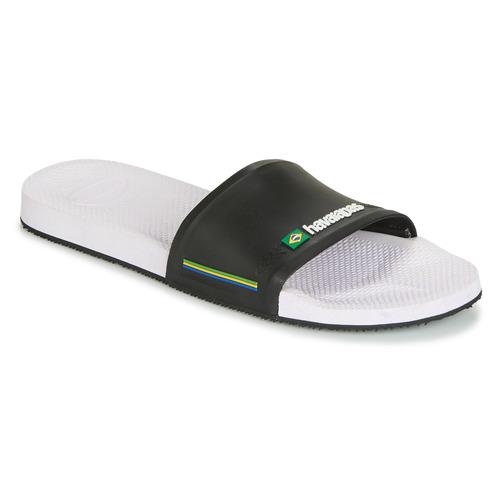 Shoes Men Sliders Havaianas SLIDE BRASIL White black