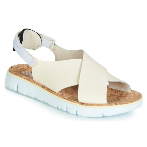 Shoes Women Sandals Camper ORUGA White