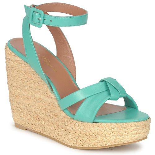 Shoes Women Sandals Robert Clergerie DEBA Pacific / Natural