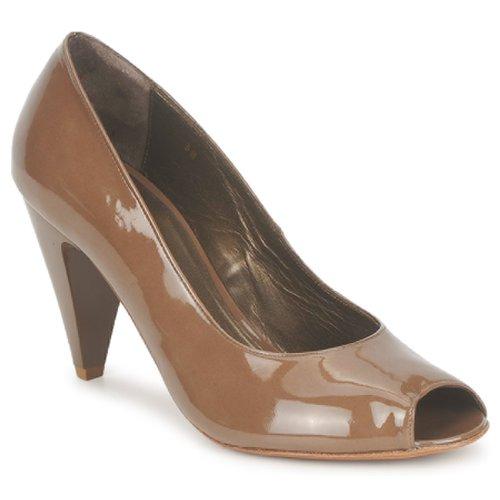 Shoes Women Heels Espace LEON Brown