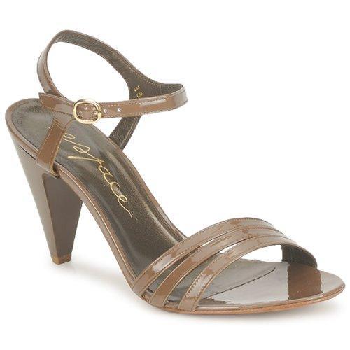 Shoes Women Sandals Espace LASTY Sable
