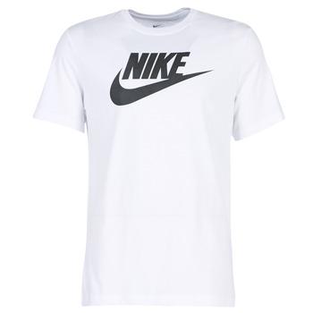 Clothing Men short-sleeved t-shirts Nike NIKE SPORTSWEAR White