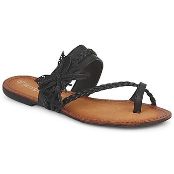 Shoes Women Flip flops Moony Mood LILIANA Black