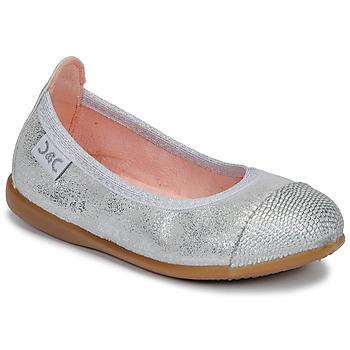 Shoes Girl Flat shoes Citrouille et Compagnie JARAMIL Silver