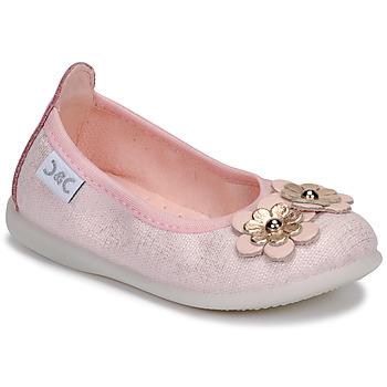 Shoes Girl Flat shoes Citrouille et Compagnie JATAMAL Pink