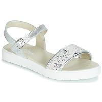 Shoes Girl Sandals Citrouille et Compagnie JIMINITE Grey / Dragonfly