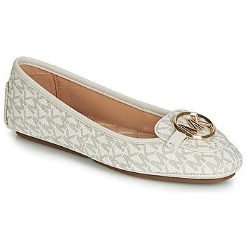 Shoes Women Flat shoes MICHAEL Michael Kors LILLIE MOC Beige