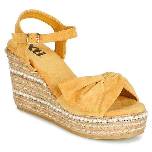 Shoes Women Sandals Xti 49073 Yellow