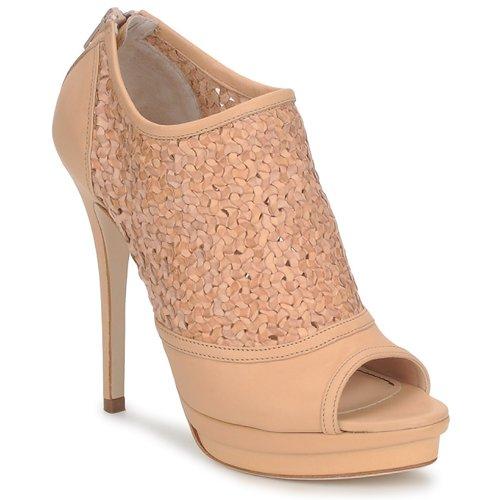 Shoes Women Heels Jerome C. Rousseau ELLI WOVEN Nude