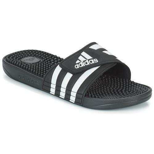 Shoes Sliders adidas Performance ADISSAGE Black / White
