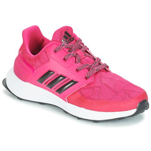 Shoes Girl Running shoes adidas Performance RAPIDARUN K Pink