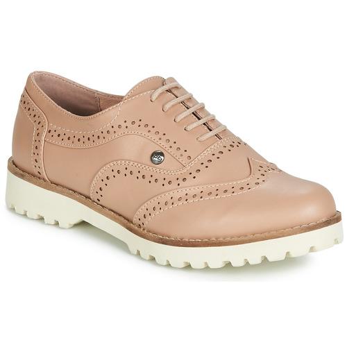 Shoes Women Derby Shoes Les Petites Bombes GISELE Powder