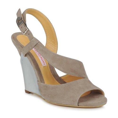 Shoes Women Sandals Charles Jourdan PALOMA Mink