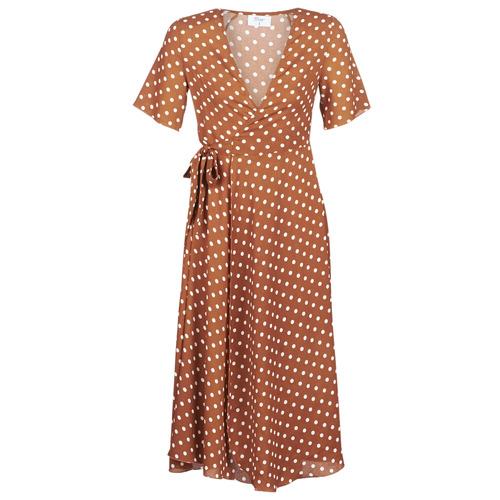 Clothing Women Long Dresses Betty London KEYLA Brown