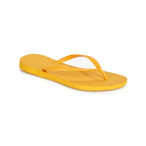 Shoes Women Flip flops Havaianas SLIM Yellow