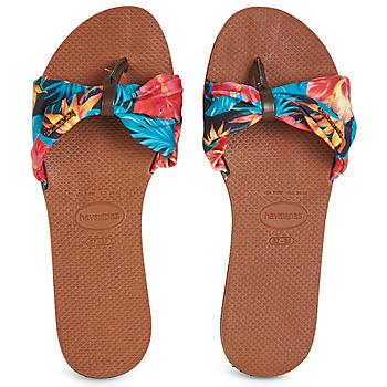 Shoes Women Flip flops Havaianas YOU SAINT TROPEZ Flower