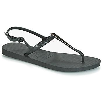 Shoes Women Sandals Havaianas FREEDOM MAXI Black