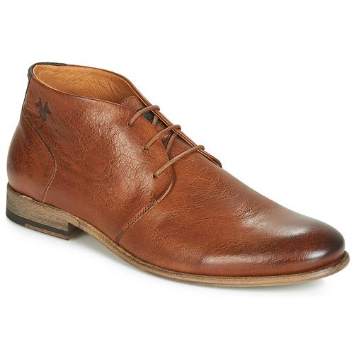 Shoes Men Mid boots Kost SARRE 1 Cognac