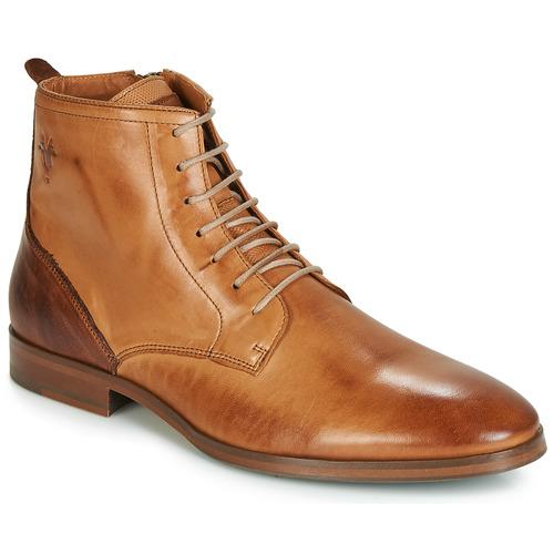 Shoes Men Mid boots Kost NICHE 39 Cognac