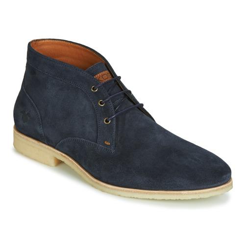 Shoes Men Mid boots Kost CALYPSO 59 Marine