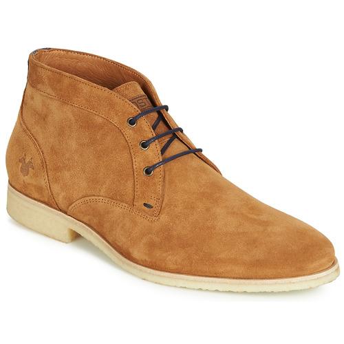 Shoes Men Mid boots Kost CALYPSO 59 Cognac