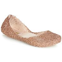 Shoes Women Flat shoes Melissa CAMPANA PAPEL VII Gold