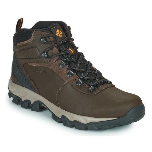 Shoes Men Walking shoes Columbia NEWTON RIDGE PLUS II WATERPROOF Brown