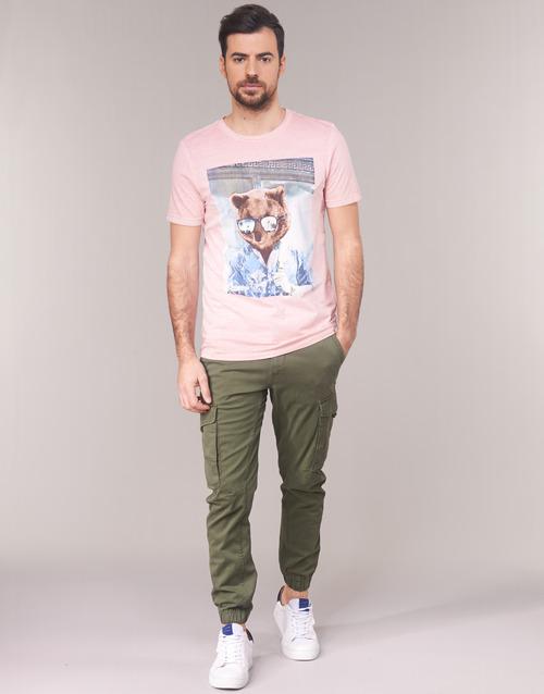 Clothing Men Cargo trousers Jack & Jones JJIPAUL Kaki