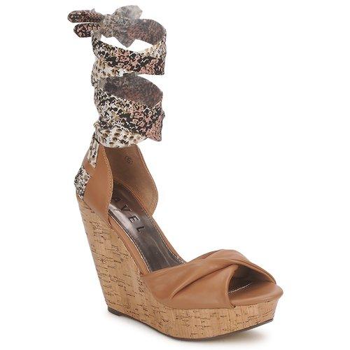 Shoes Women Sandals Ravel JEMMA Camel