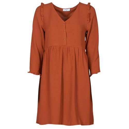 Clothing Women Short Dresses Betty London JABALA Brown