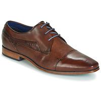 Shoes Men Derby Shoes Bugatti TROISKATR Brown