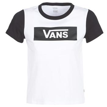 Clothing Women short-sleeved t-shirts Vans V TANGLE RANGE RINGER White