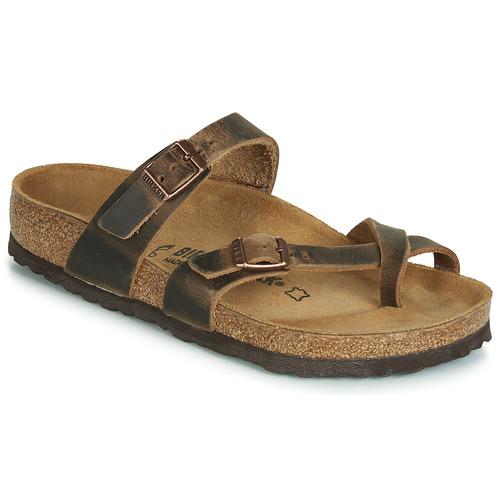 Shoes Women Sandals Birkenstock MAYARI Brown