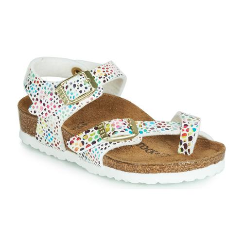 Shoes Girl Sandals Birkenstock TAORMINA White