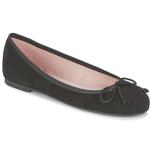 Shoes Women Flat shoes Pretty Ballerinas ANGELIS Black
