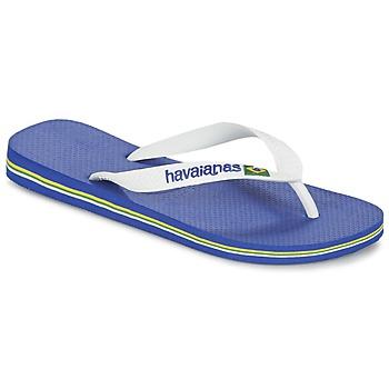 Shoes Flip flops Havaianas BRASIL LOGO Marine Blue