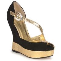 Shoes Women Sandals Terry de Havilland PENNY Black-gold