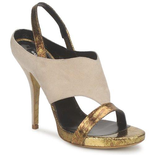 Shoes Women Sandals Gaspard Yurkievich T4 VAR8 Beige / Gold