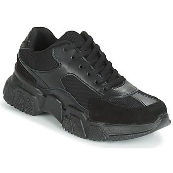 Shoes Women Low top trainers Yurban JILIBELLE Black