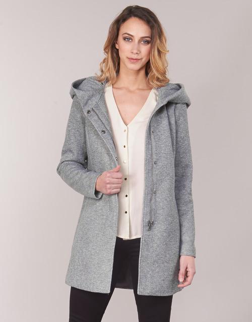 Clothing Women Coats Vero Moda VMVERODONA Grey