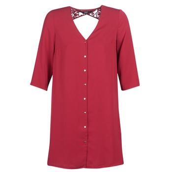 Clothing Women Short Dresses Vero Moda VMRICKY Bordeaux