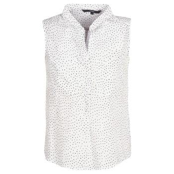 Clothing Women Tops / Blouses Vero Moda VMERIKA White / Black