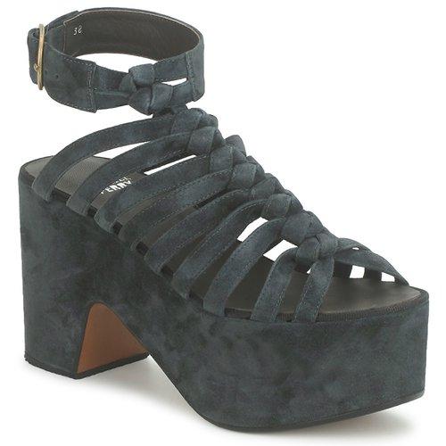 Shoes Women Sandals Michel Perry 12676 Dark