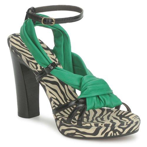 Shoes Women Sandals Michel Perry 12709 Emerald