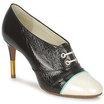 Shoes Women Shoe boots Michel Perry 12691 NACRE-BLACK