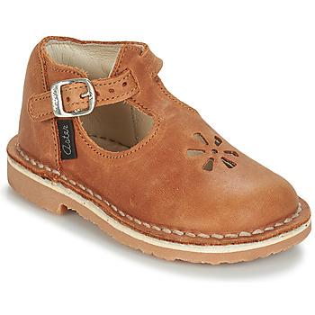 Shoes Children Flat shoes Aster BIMBO Cognac