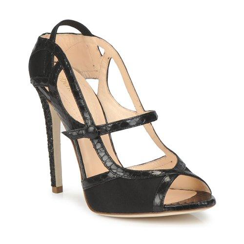 Shoes Women Sandals Roberto Cavalli RPS678 Black